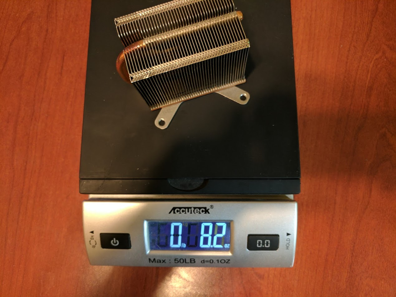 Xenon CPU heatsink