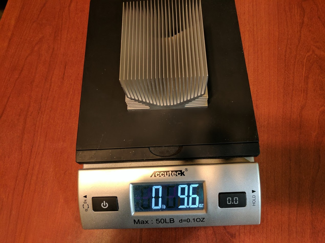 Falcon CPU heatsink