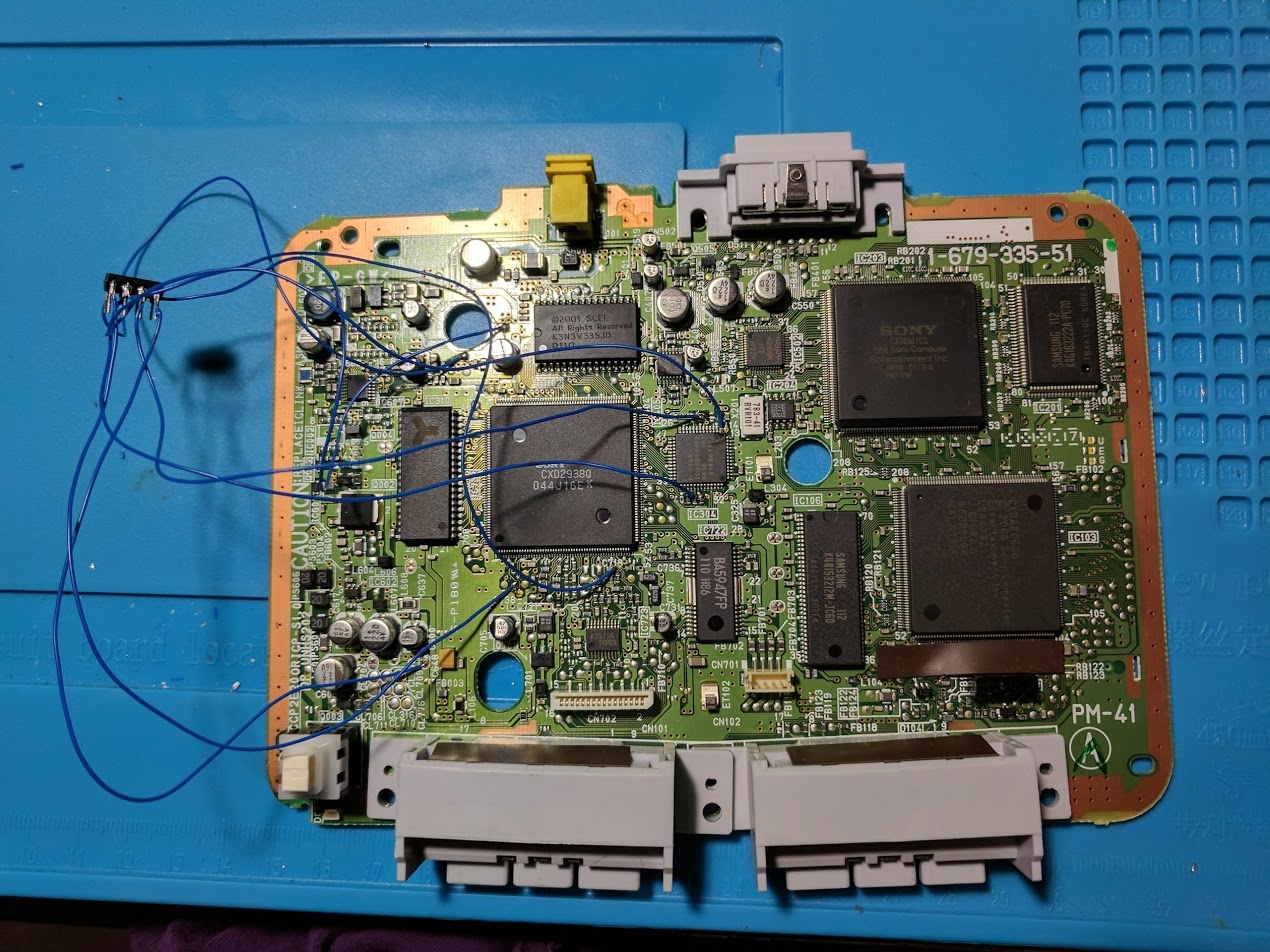 MM3 modchip wiring