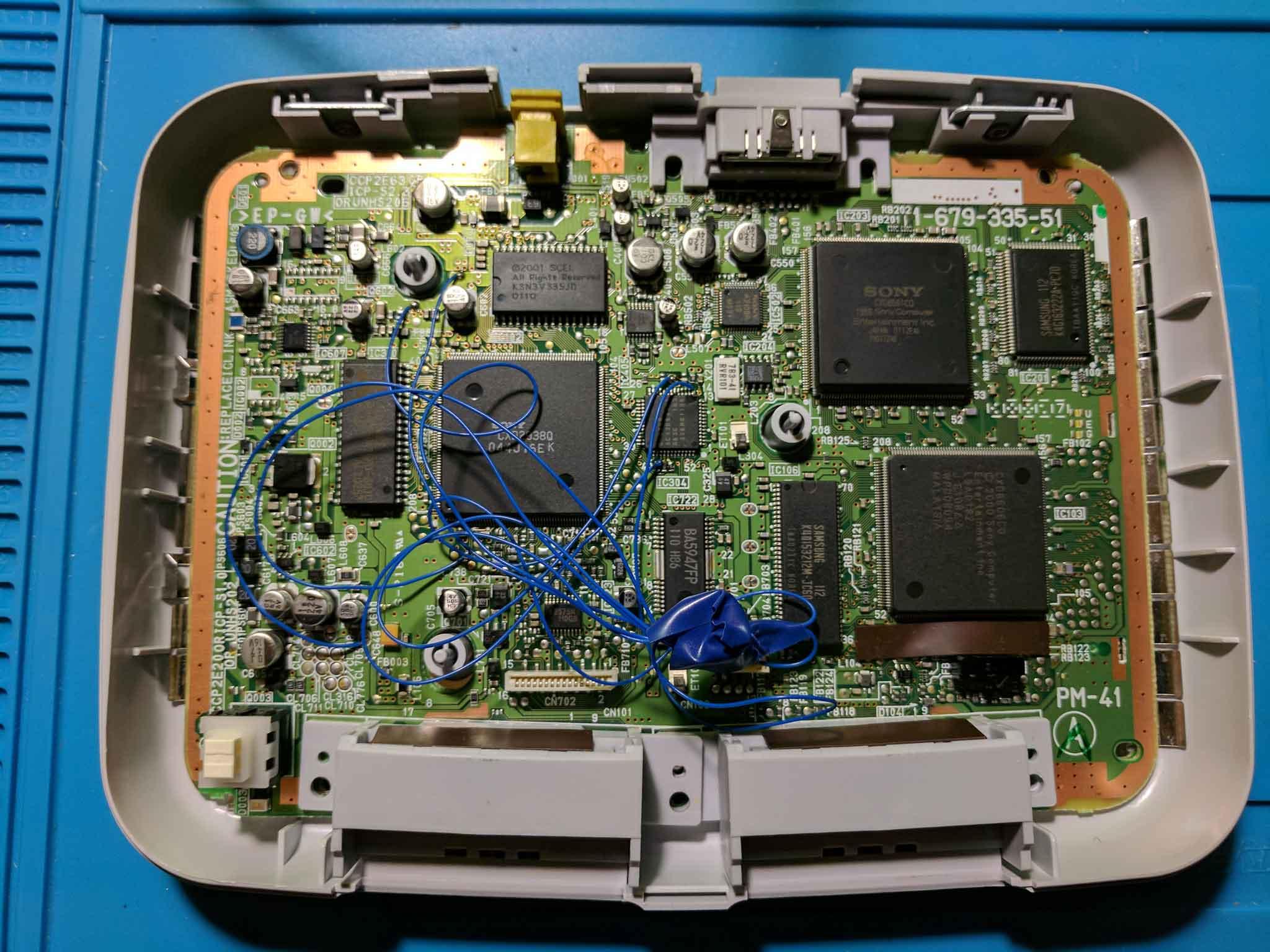 PSone board