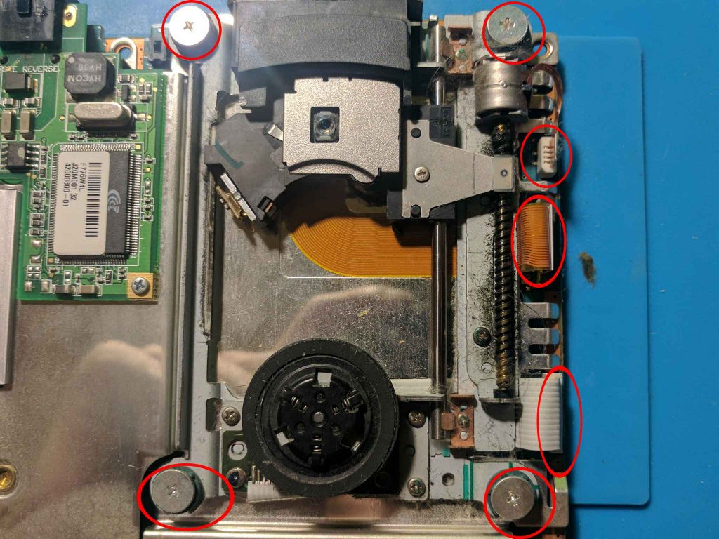 Disc drive assembly
