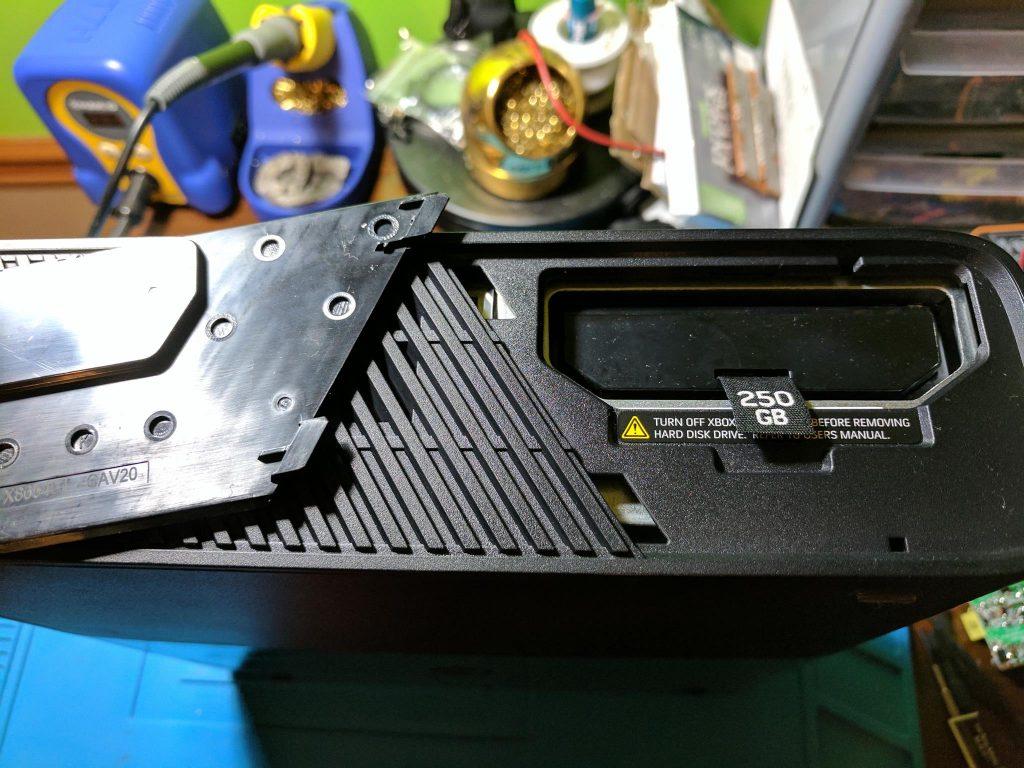 Xbox 360 E hard drive