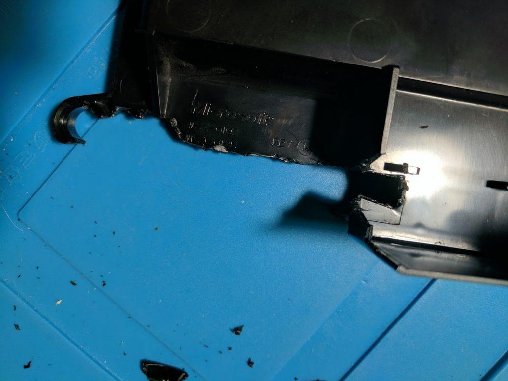 Xbox hard drive tray modifications