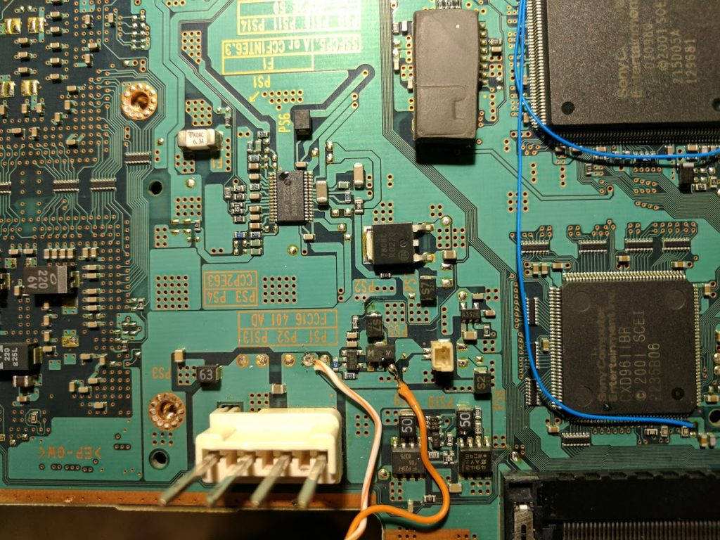 Fan wiring