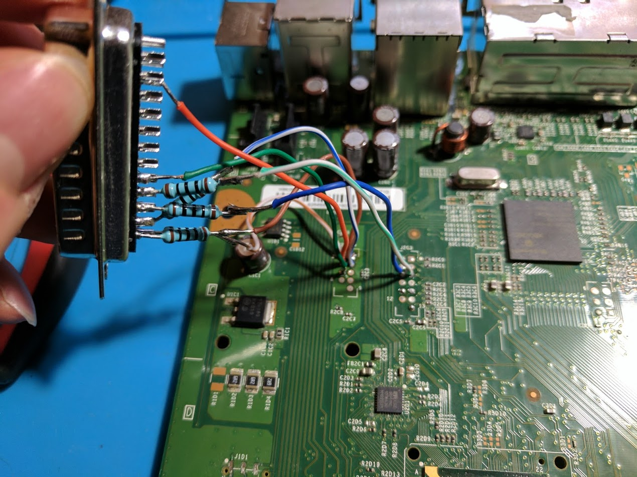 Cheap Xbox 360 S Trinity Rgh Using An Lpt Port And X360ace William Circuit Diagram Controller Nand Read