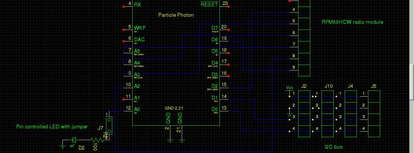 How to make a PCB, part 1: making the schematic for Particle Photon ...