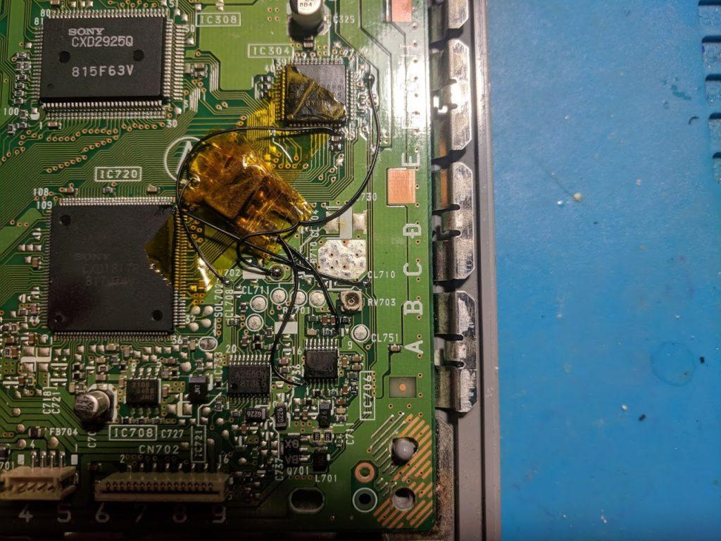 SCPH-7001 MM3 installation