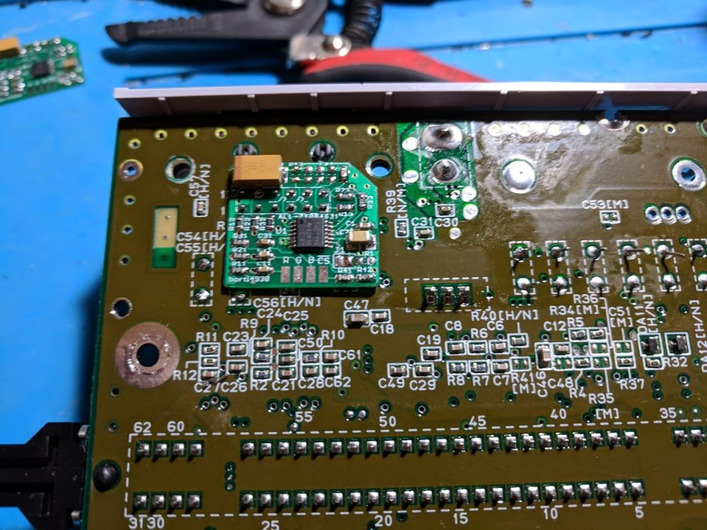 SNES Jr. THS7374 amp