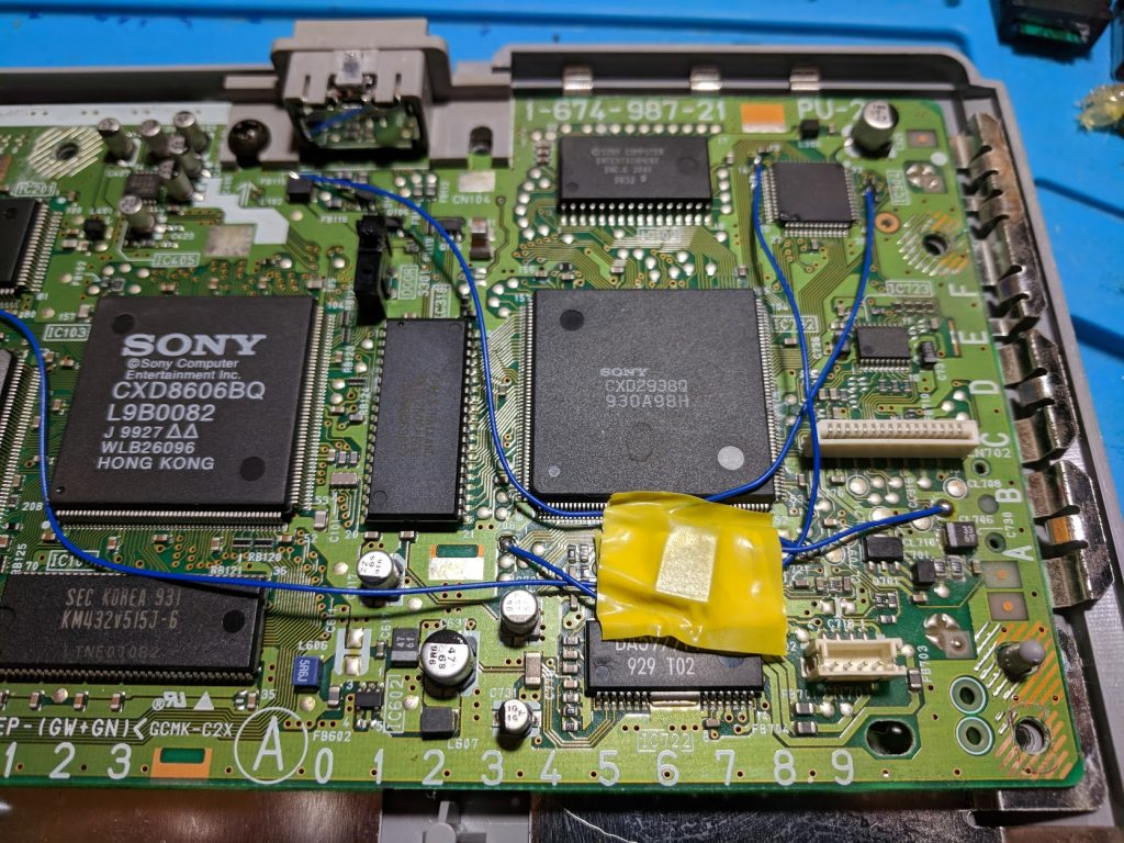 SCPH-9001 install