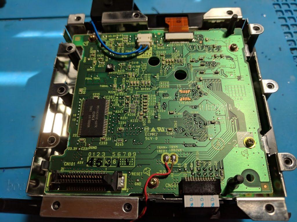 GameCube drive controller board
