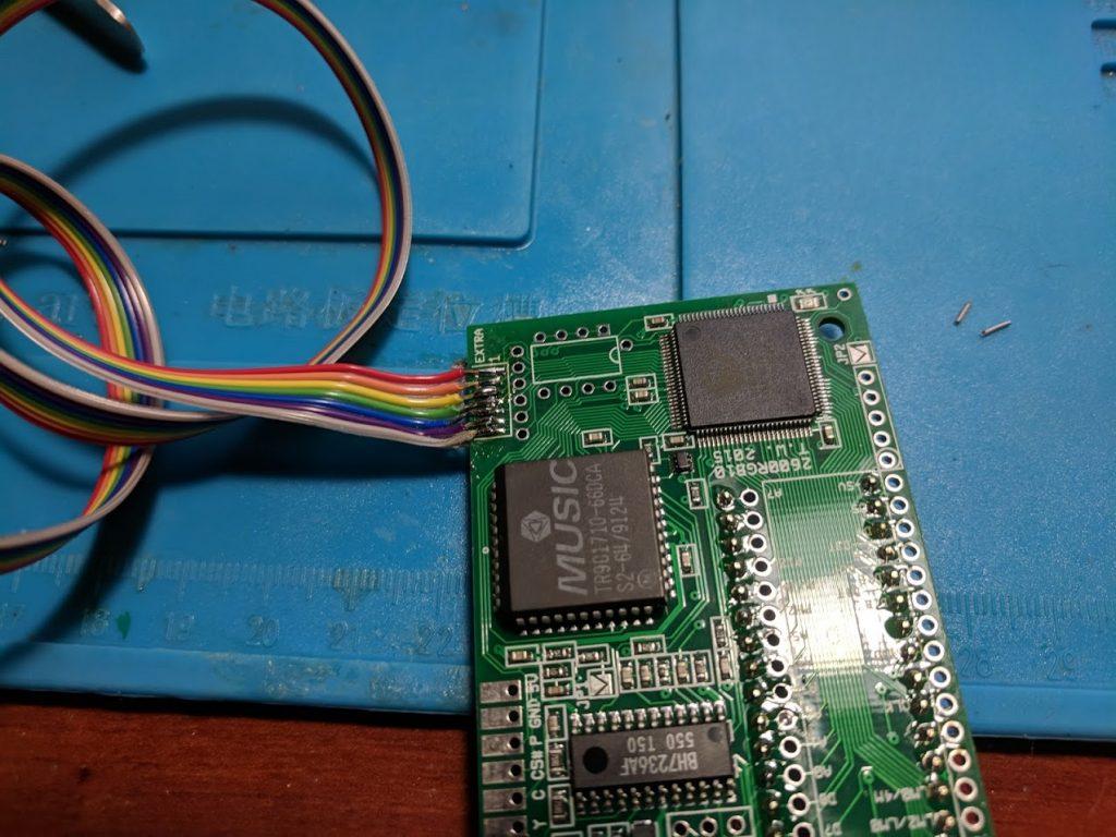 2600RGB ribbon cable