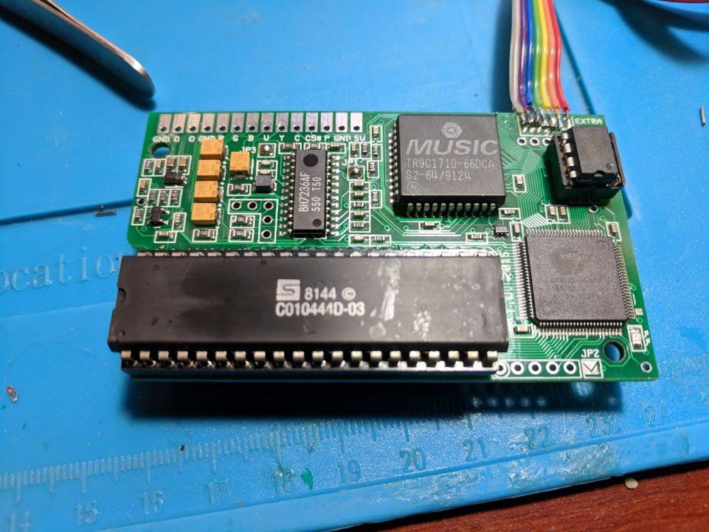 Prepared 2600RGB PCB