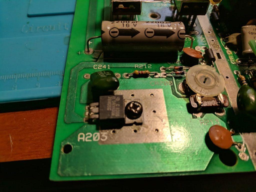 Atari 2600 voltage regulator