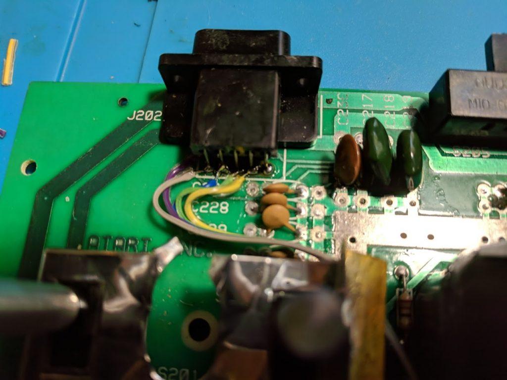 Atari 2600 controller port