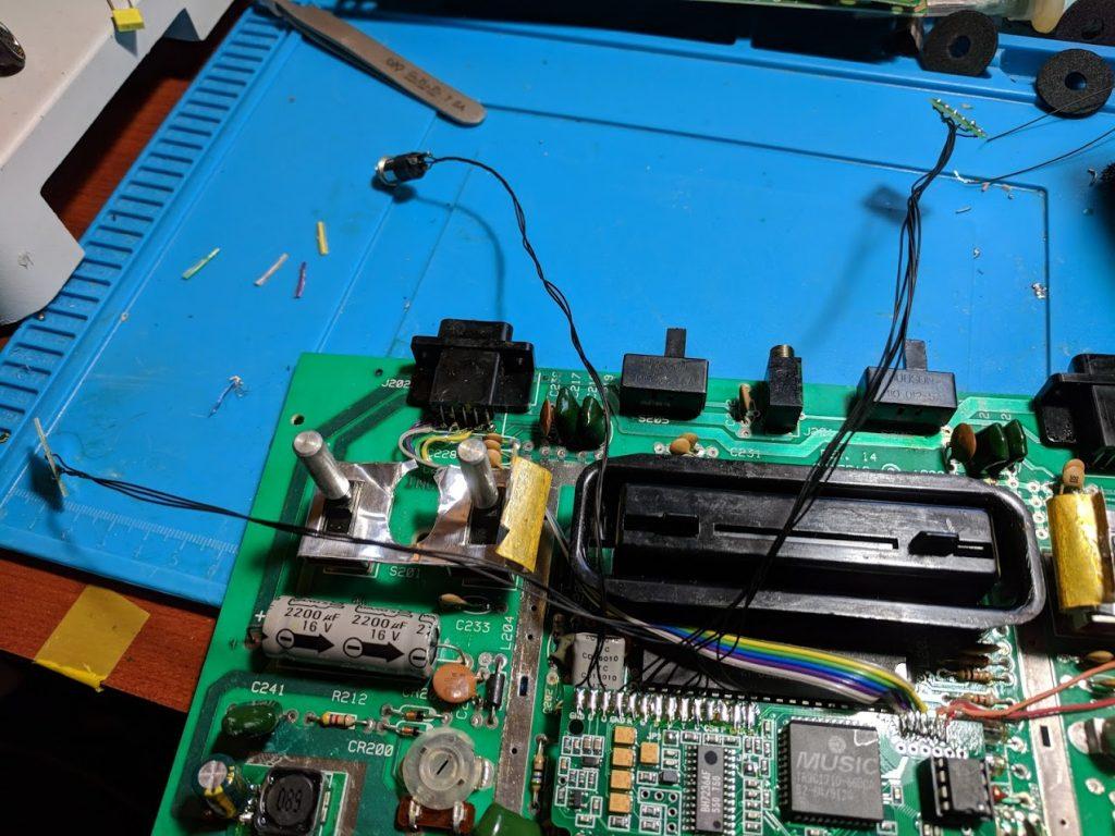 2600RGB connectors