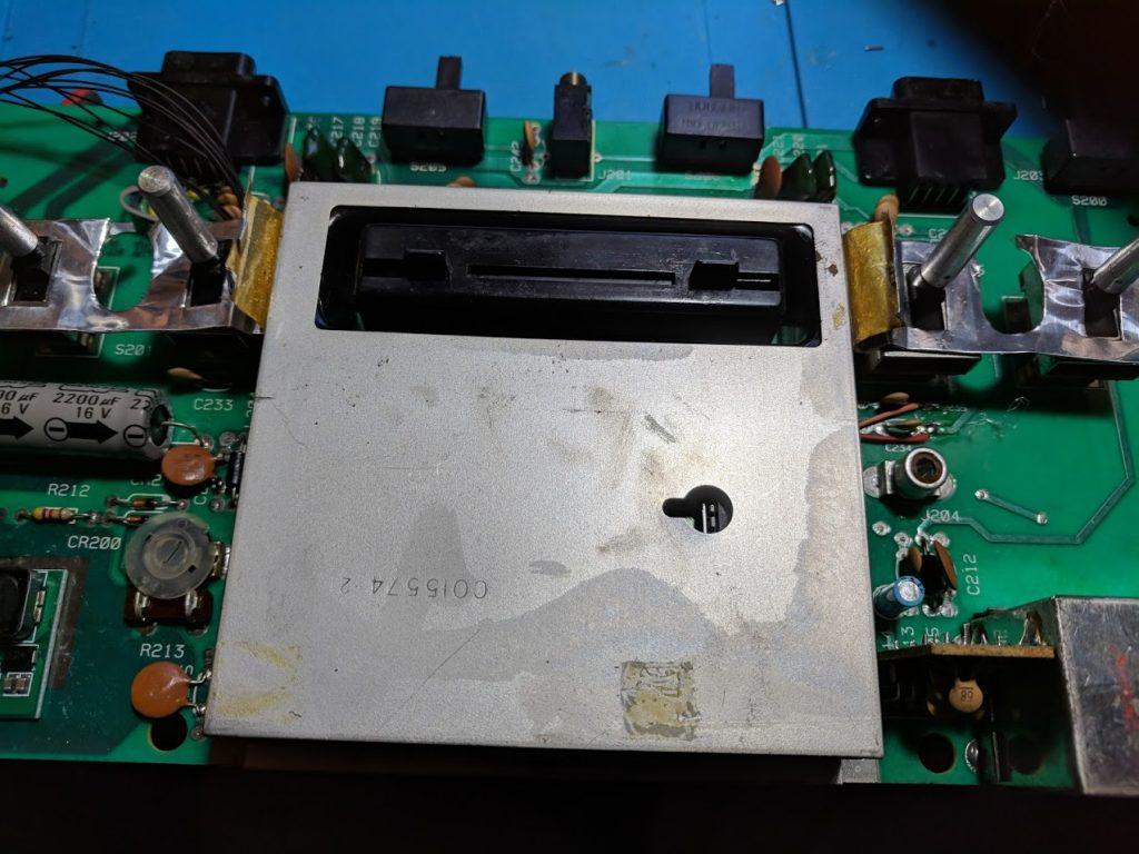 Atari 2600 metal shield