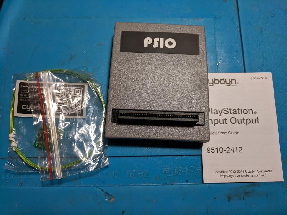 PSIO box contents