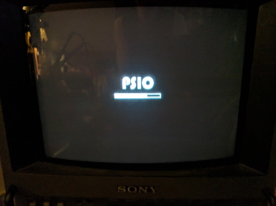 PSIO loading screen