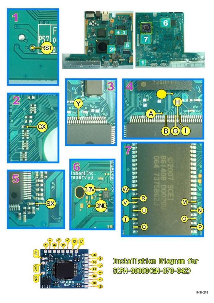 V17 Modbo installation diagram (GH-070-42)