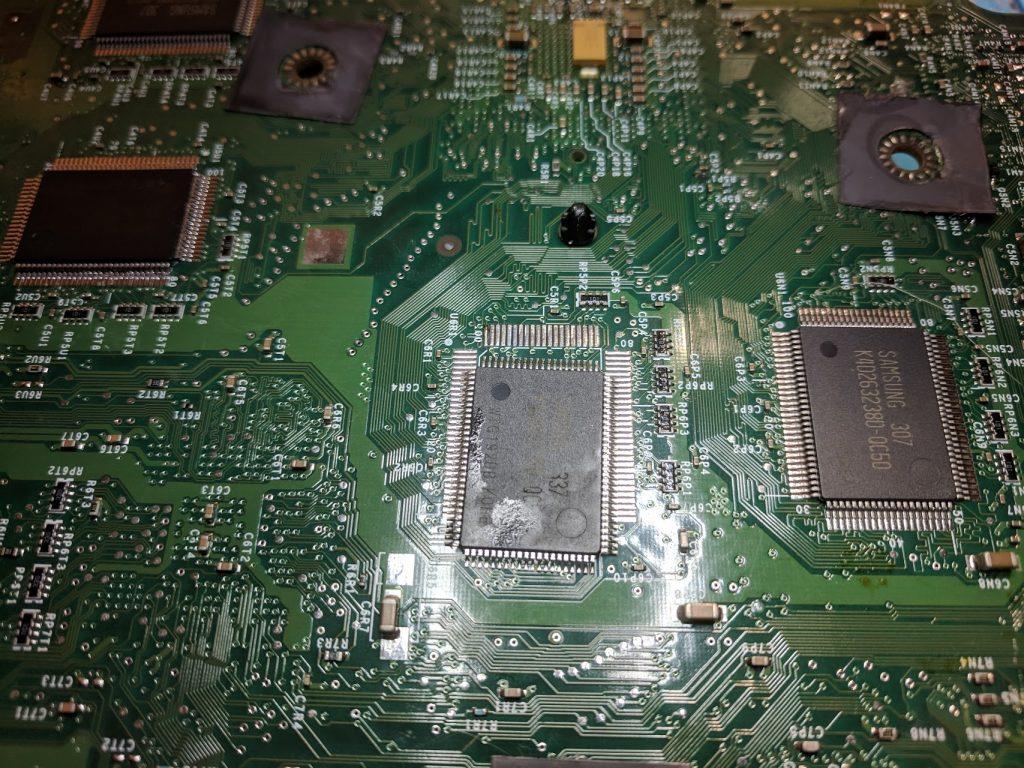 Original Xbox tinned RAM pad