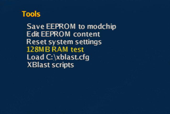 XBlast OS tools