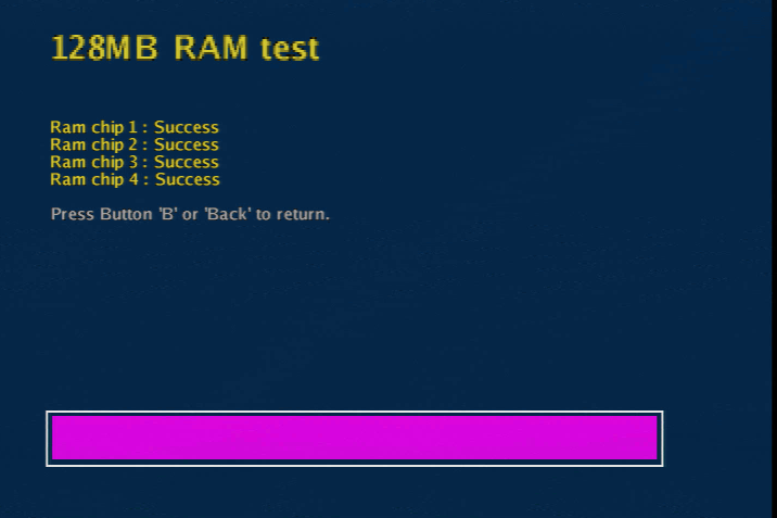 XBlast OS RAM upgrade success